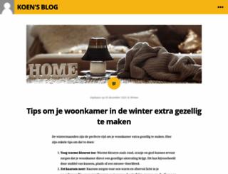 koensblog.com screenshot