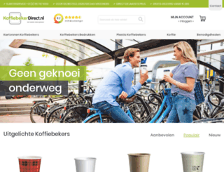 koffiebekerdirect.nl screenshot