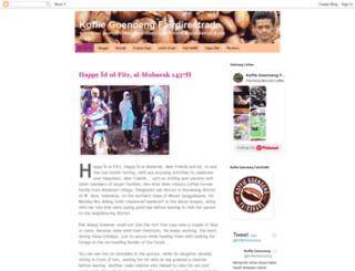 koffiegoenoengfairshare.blogspot.com screenshot