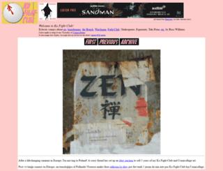 kofightclub.com screenshot