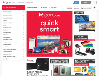 kogan.co.uk screenshot
