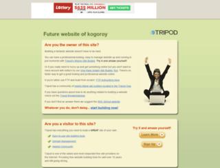 kogoroy.tripod.com screenshot