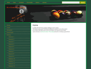 koh-chang-pool-league.net screenshot