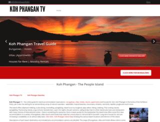 koh-phangan.tv screenshot