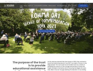 kohimaeducationaltrust.net screenshot
