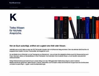 kohlhammer.de screenshot