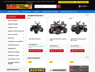 kohout-moto.com screenshot