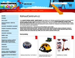 kohoutcentrum.cz screenshot