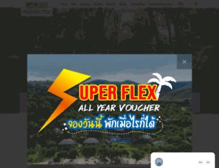 kohyaoyaivillage.com screenshot