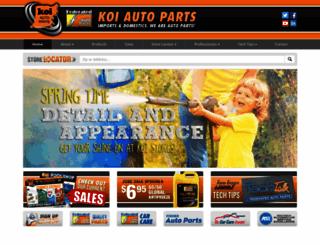 koiautoparts.com screenshot