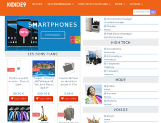 koide9.fr screenshot