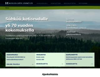 koillislapinsahko.fi screenshot