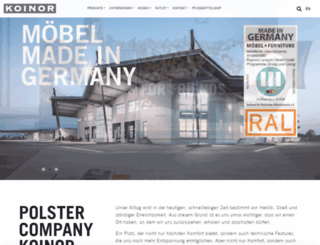 koinor.com screenshot