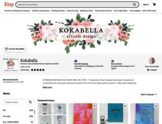 kokabella.com screenshot