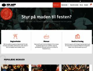 kokamok-catering.dk screenshot