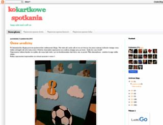 kokartkowespotkania.blogspot.com screenshot