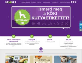 kokiterminal.hu screenshot