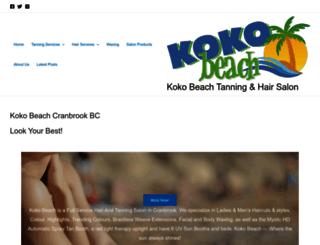 kokobeach.net screenshot