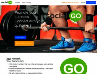 kokoliving.socialgo.com screenshot