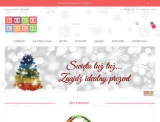 kokoloko.eu screenshot
