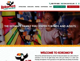 kokomos.com screenshot