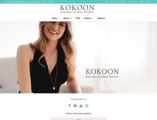 kokoon.net screenshot