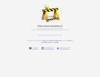 kokoszkiewicz.it screenshot