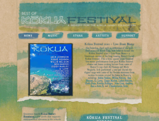 kokuafestival.com screenshot