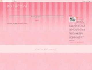 kolacova.blogspot.sk screenshot