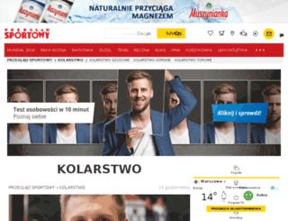 kolarstwo.przegladsportowy.pl screenshot
