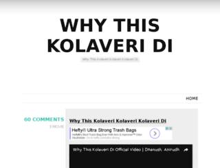 kolaveri.com screenshot