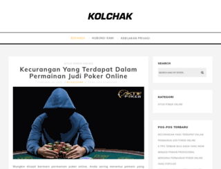 kolchak.org screenshot