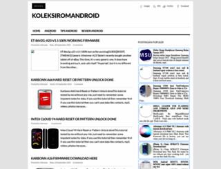 koleksiromandroid.blogspot.com screenshot