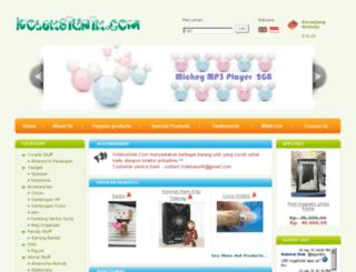 koleksiunik.com screenshot