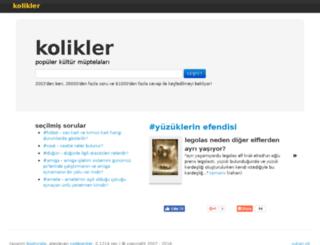 kolikler.com screenshot