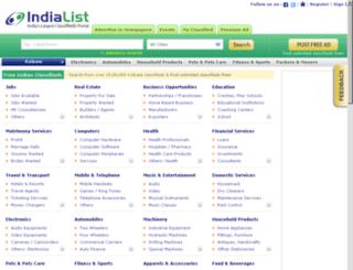 kolkata.indialist.com screenshot