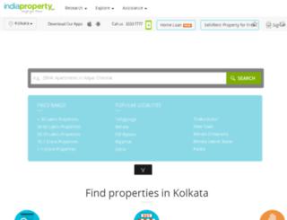 kolkata.indiaproperty.com screenshot