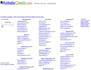 kolkataclassic.com screenshot