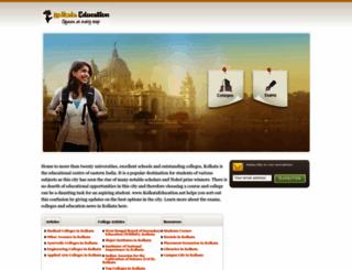 kolkataeducation.net screenshot