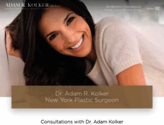 kolkermd.com screenshot