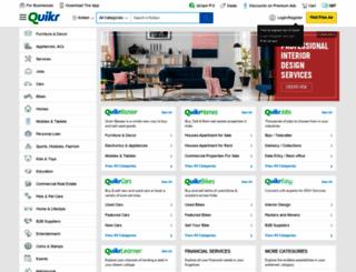 kollam.quikr.com screenshot