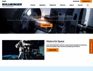 kollmorgen.com screenshot