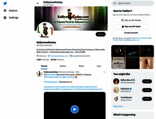 kollywoodtoday.com screenshot