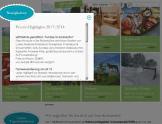 kolmenhof.wolber-web-entwickler.de screenshot