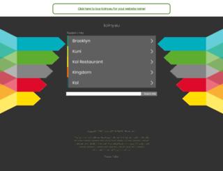 kolny.eu screenshot