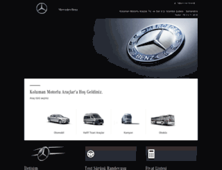 kolumanistanbul.mercedes-benz.com.tr screenshot