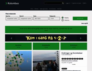 kolumbus.no screenshot