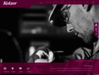 kolzer.com screenshot