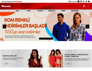 kom.com.tr screenshot