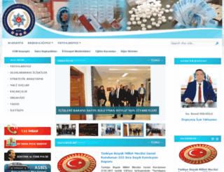 kom.gov.tr screenshot